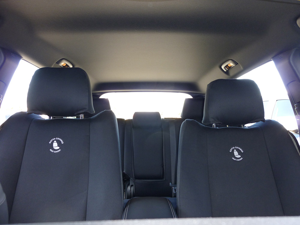 Jeep - Grand Cherokee denim seat covers