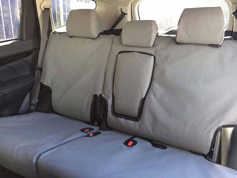 Mitsubishi Pajero Sport - 2nd row grey flat canvas