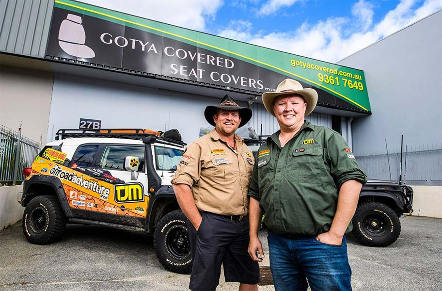 Offroad Adventure Show visit Gotya Covered factory