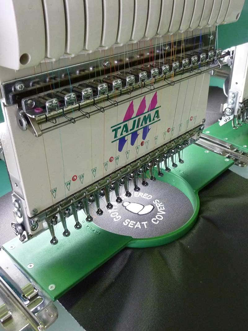 Custom Embroidery Machine
